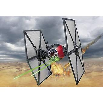 Revell 06693 Star Wars First Order Special Forces Tie Fighter Sci-Fi spacecraft assembly kit