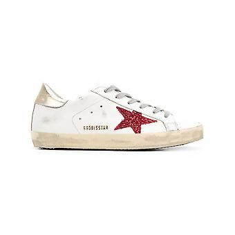 Golden Goose women's G32WS590G63 White leather of sneakers