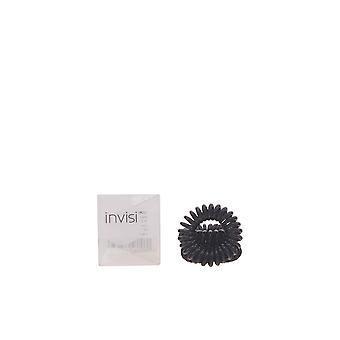 Invisibobble Black 3 Units New Hair Dressing Products Unisex Sealed Boxed