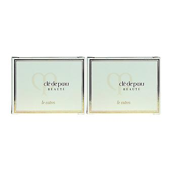 Cle de Peau Beaute Le Cotton 5 Sheets New In Box (Pack Of 2)