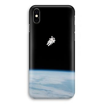 iPhone X Full Print Case - Alone in Space
