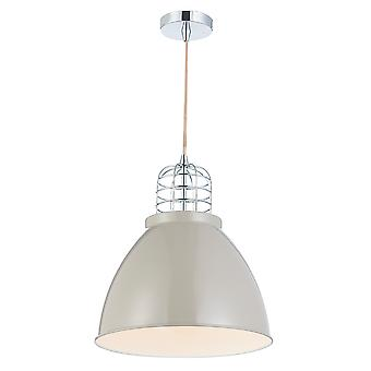 Seymour 1 Lighting Pendant Putty