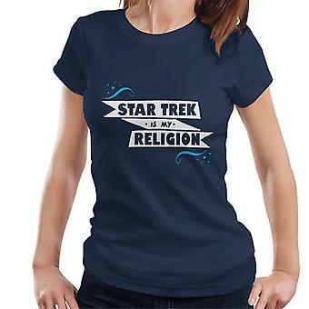 Star Trek ist meine Religion Damen T-Shirt