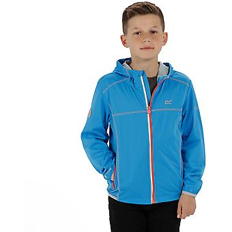 Regatta Boys & Girls Vortec Lightweight Water Repel Softshell Jacket