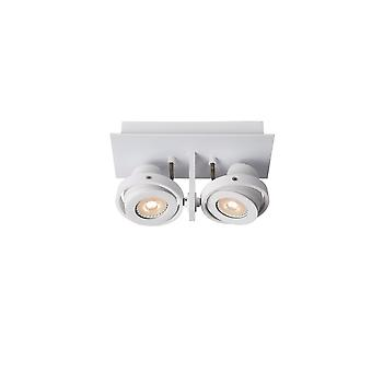 Lucide White SpotLED 2x5W