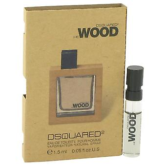 He Wood Vial (sample) By Dsquared2