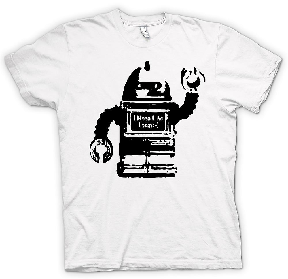 Womens T-shirt - Future Robot I Mean No Harm - Graphic Design