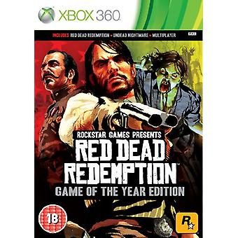 Red Dead Redemption - Game of The Year Edition (Xbox 360) - Factory Sealed