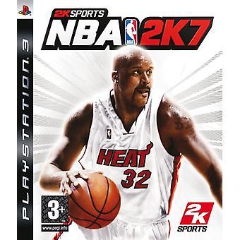 NBA 2K 7 (PS3)