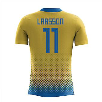 eeee4216bfd 2018-2019 Sweden Airo Concept Home Shirt (Larsson 11)