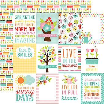 Hello Spring Double-Sided Cardstock 12