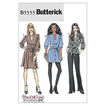 Misses' Top, Tunic, Dress and Belt-F5 (16-18-20-22-24) -*SEWING PATTERN*