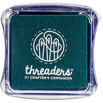 Crafter's Companion Threaders Fabric Ink Pads-Green