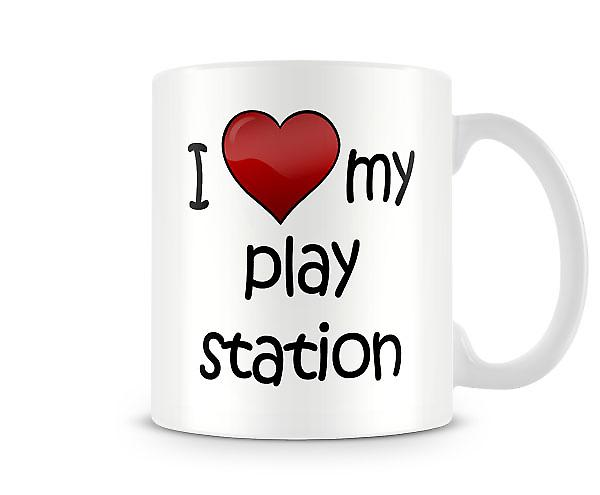 I Love My PlayStation Printed Mug