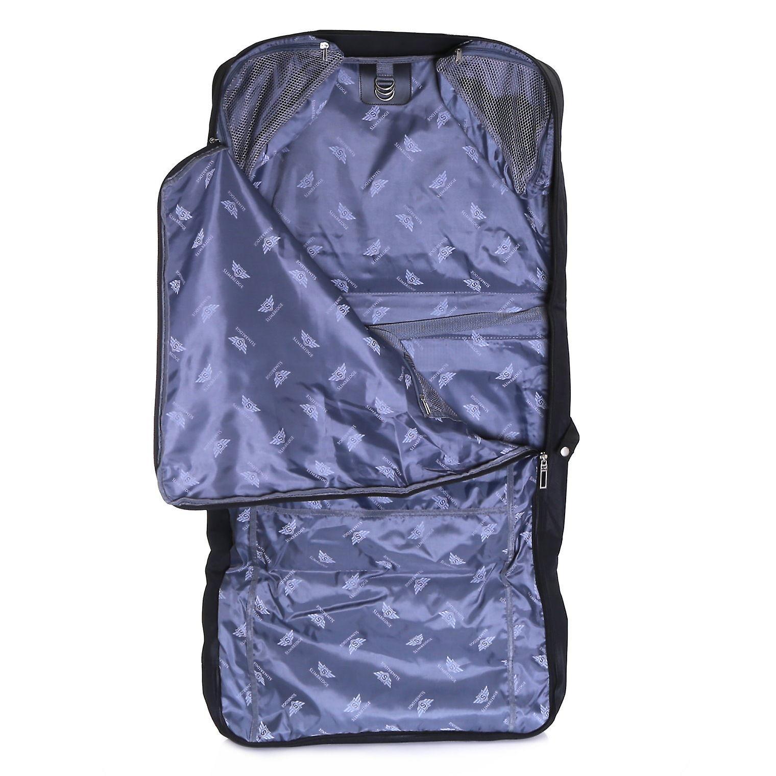 Slimbridge Rha Tri-Fold Cabin Suit Carrier, Black