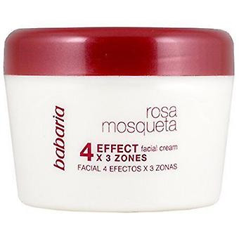 Babaria Facial cream 4 effects with rosehip format XXL 125