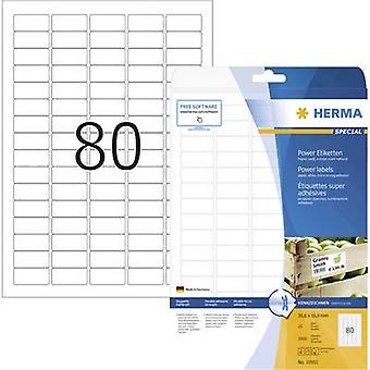 Herma 10901 Labels 35.6 x 16.9 mm Paper White