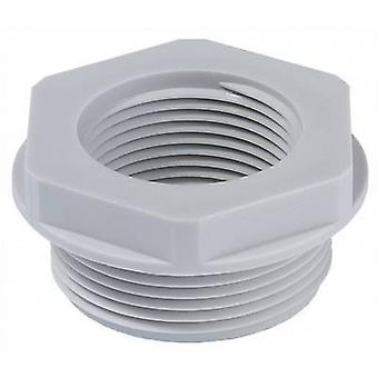 Cable gland adapter PG48 M50 Polyamide Light grey Wiska APM 48/50 1 pc(s)