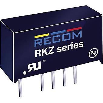 RECOM RKZ-0512D DC/DC converter (print) 5 Vdc 12 Vdc, -12 Vdc 83 mA 2 W No. of outputs: 2 x
