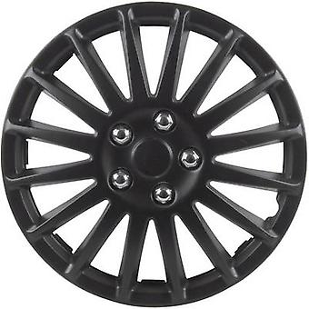 cartrend 75175 Wheel trims R15 Black (matt) 4 pc(s)