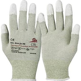 KCL Camapur Comfort Antistatik 624 Polyamide Protective glove Size (gloves): 9, L EN 16350:2014-07 CAT II 1 pair