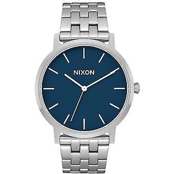 Nixon The Porter 35 Watch - Silver/Navy