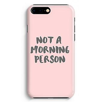 iPhone 8 Plus Full Print Case (Glossy) - Morning person