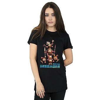 Disney Women's Moana Fear The Kakamora Boyfriend Fit T-Shirt