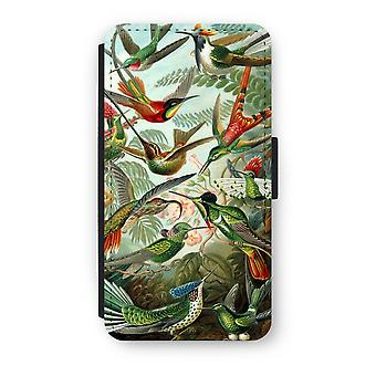 iPhone XS Flip Case - Haeckel Trochilidae