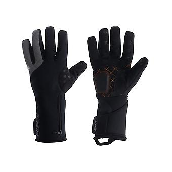 Santini Black 2017 Fiord Extreme Winter Gauntlet Cycling Gloves
