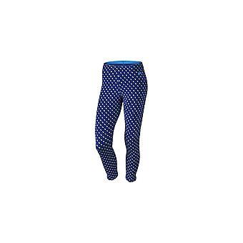 Calças de mulheres Nike Club Legging Crop Aop 725796455 2