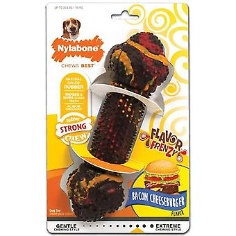 Nylabone Strong Chew Bacon Cheeseburguer S (Dogs , Toys & Sport , Chew Toys)