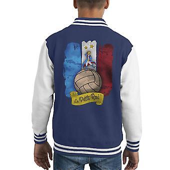 Le Petit Roi Kid Varsity Jacket