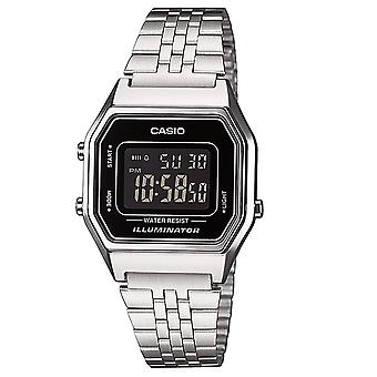 Casio LA680WEA/1B Ladies Chronograph Digital Alarm Watches LA680WEA-1BEF