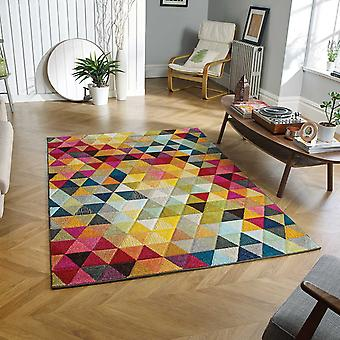 Piccadilly mångfärgad mattor 526 X
