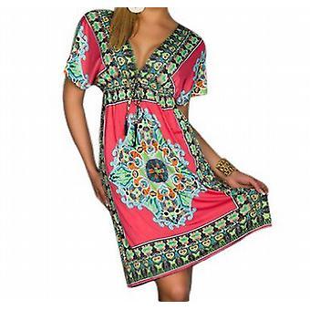 Waooh - Fashion - Tailliertes Kleid Stil Mandala-Muster