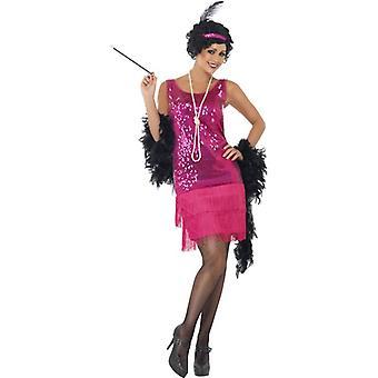 Funtime Flapper Costume, UK Dress 8-10