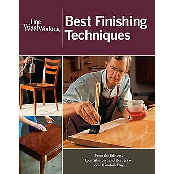 Best Finishing Techniques by  -Fine Woodworking - - 9781600853661 Book