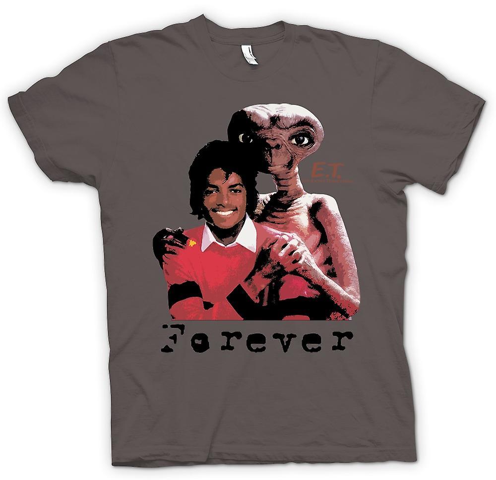 Womens T-shirt-Et Michael Jackson - Forever Alien