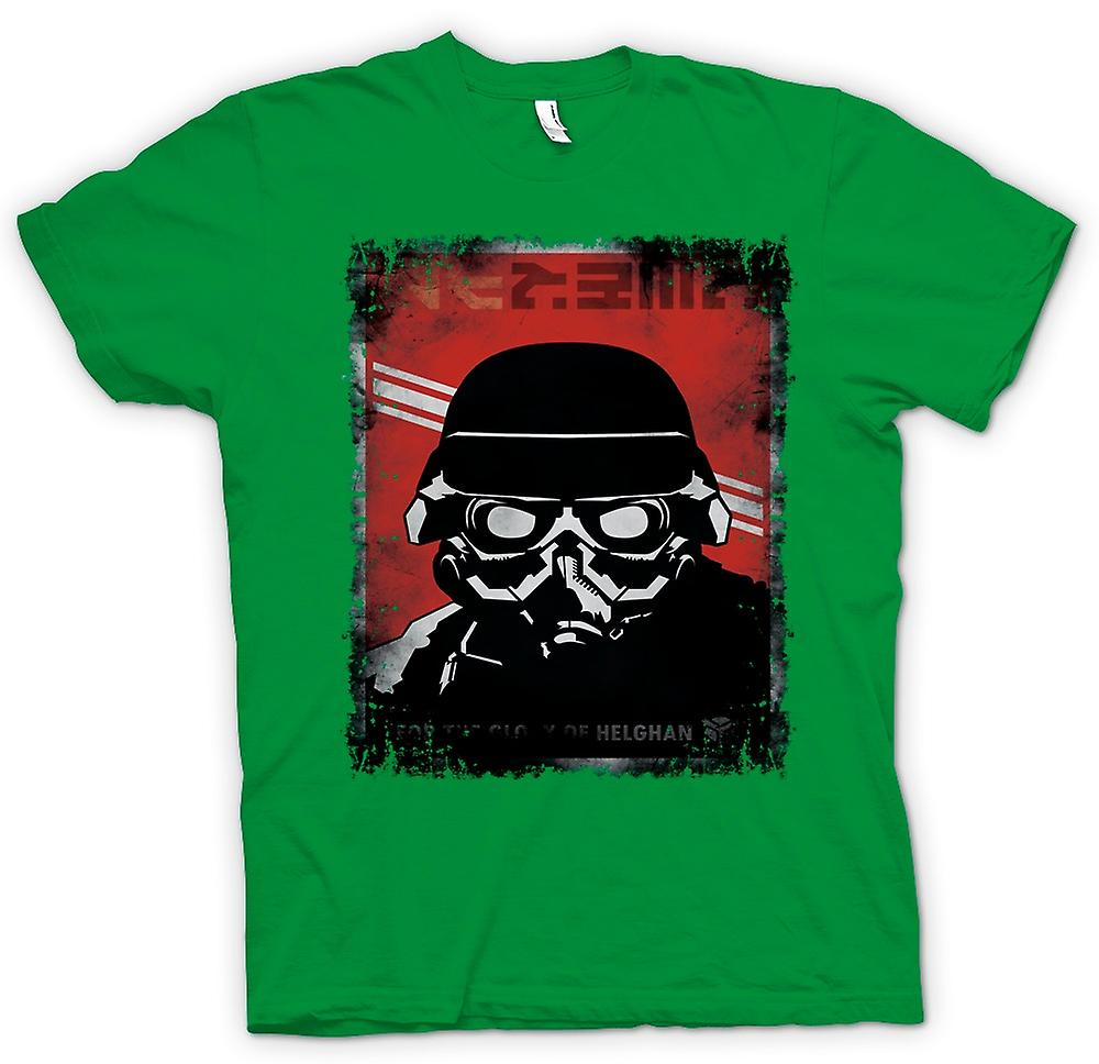 Mens T-shirt - Kill Zone Helgan Gamer