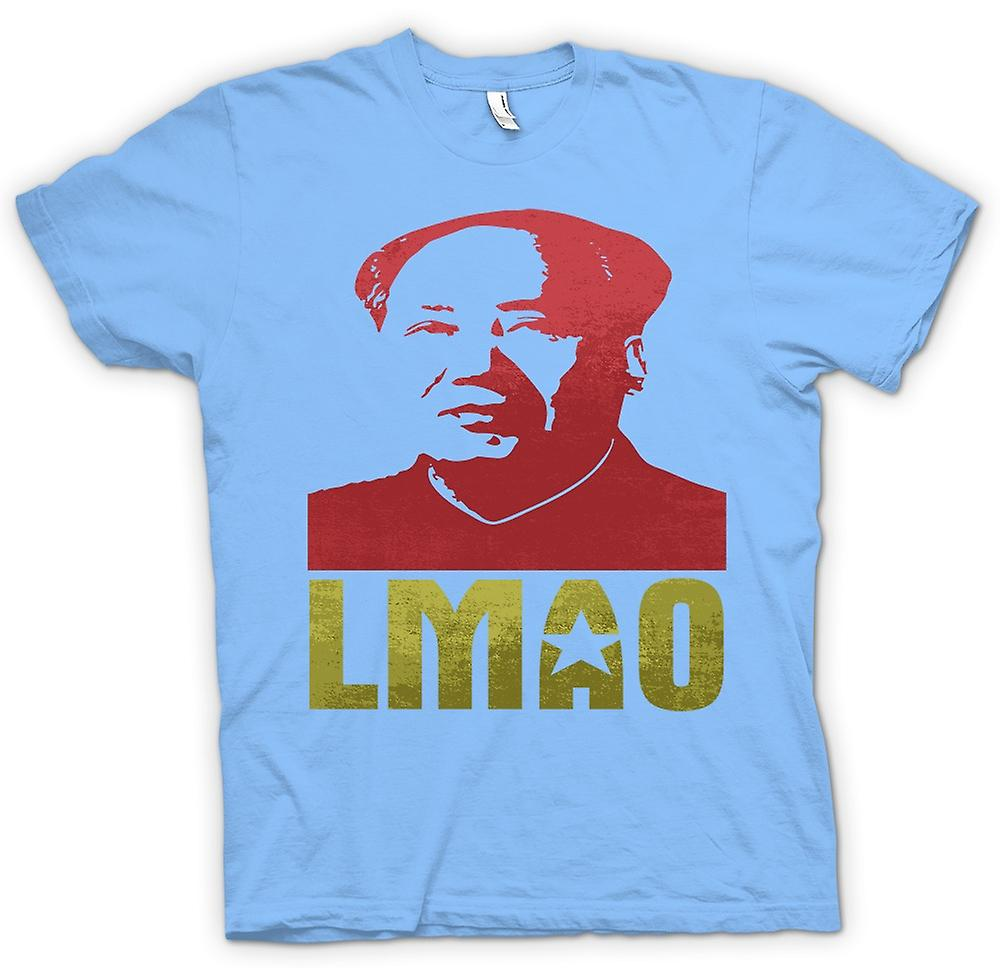 Mens T-shirt - LMAO Chairman Mao - Funny