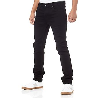 Element Black Rinse E01 Slim Fit Jeans