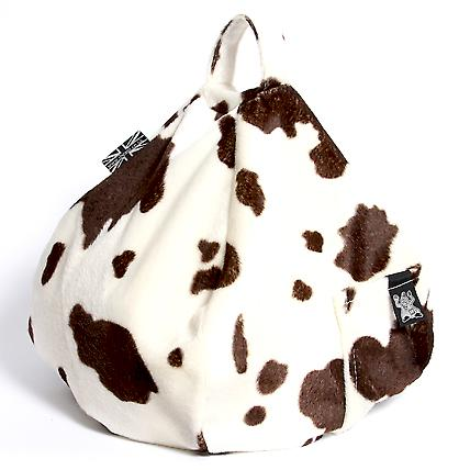 iBeani iPad, Tablet & eReader Bean Bag Stand / Cushion - Cow