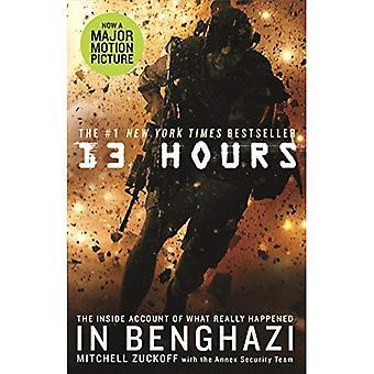 13 horas: el explosivo dentro de la historia de cómo seis hombres luchó contra el ataque terrorista de Bengasi
