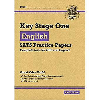 New KS1 English SATS Practice Papers: Pack 3 (for the tests in 2019)