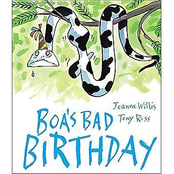 Mauvais anniversaire de boa