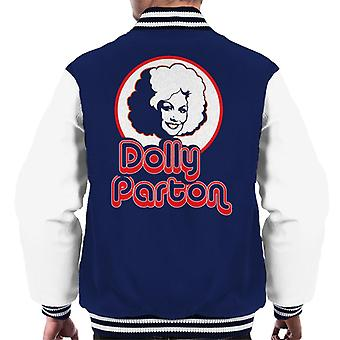 Dolly Parton Retro-Pop-Ikone Silhouette Männer Varsity Jacket
