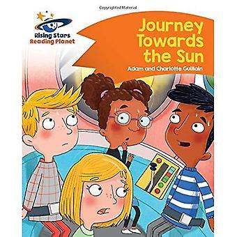 Lezen - reis naar de zon - Planet Orange: komeet Street Kids (stijgende sterren planeet lezen)