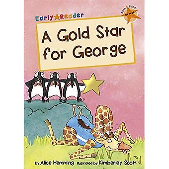 A Gold Star for George (Orange Early Reader) (Orange Band)