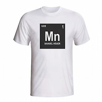 Manuel Neuer Germany Periodic Table T-shirt (white) - Kids